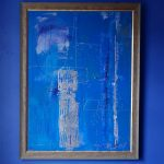 Abstract modern oil painting