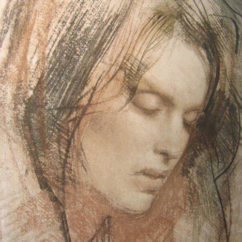Pietro Annigoni painting