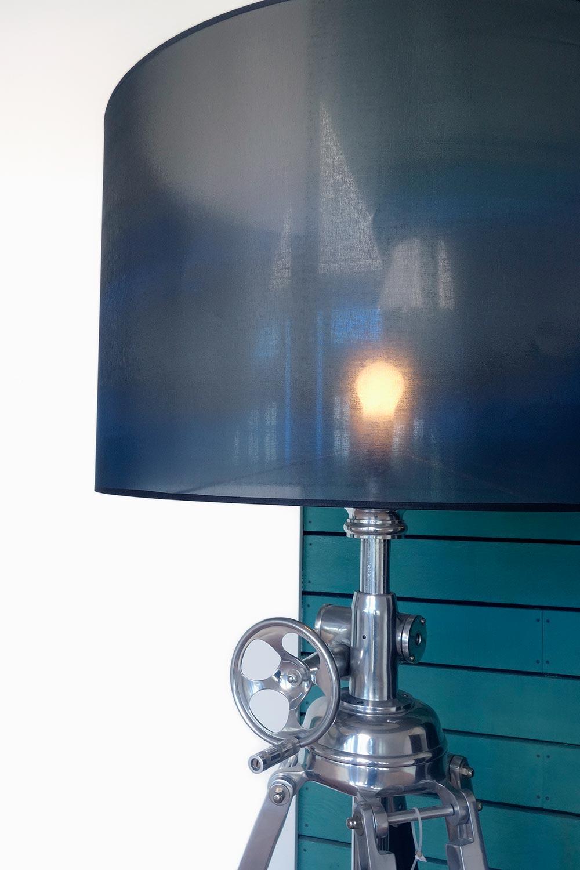 Eichholtz Royal Marine Floor Lamp Polished Aluminium