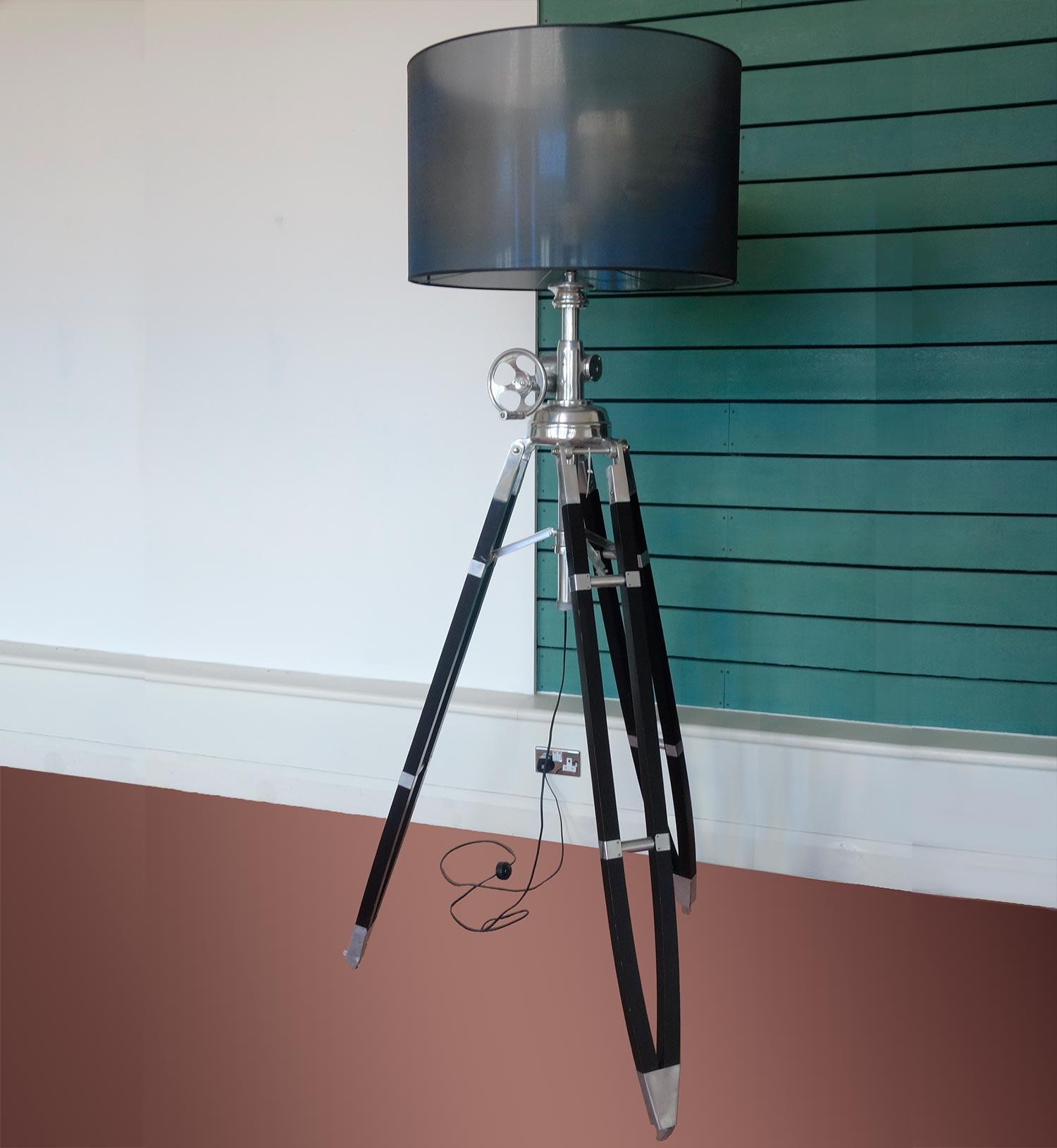 Eichholtz Royal Marine Floor Lamp - Polished Aluminium - 20th ...