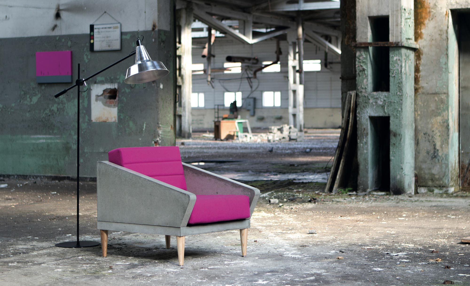 Concrete Elegance: Concrete Furniture