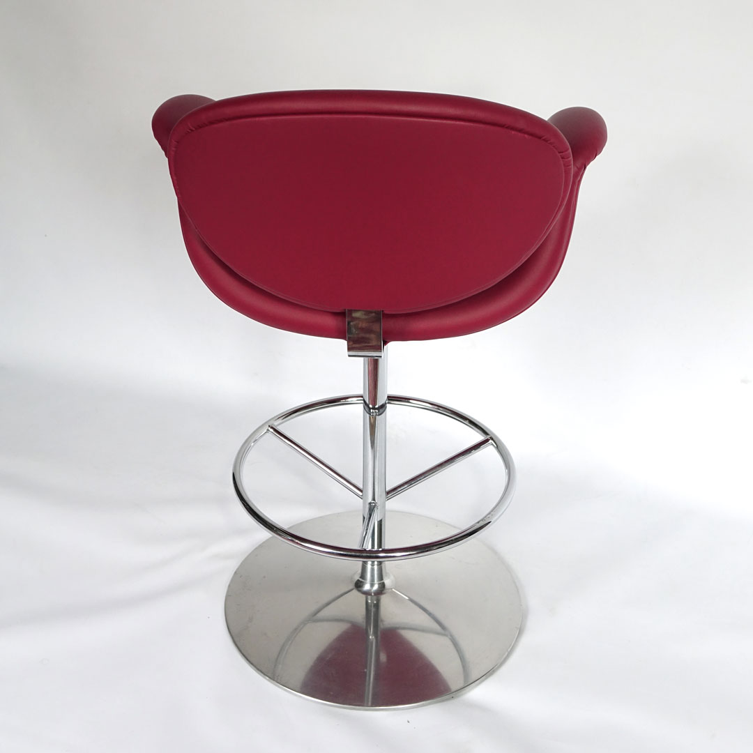 Sensational Artifort Little Tulip Carmin Red Bar Stool By Pierre Paulin Pdpeps Interior Chair Design Pdpepsorg