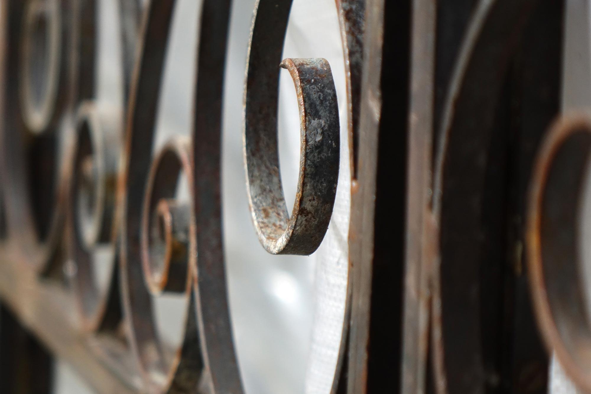 Wrought Iron Gates from Brighton Aquarium