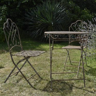 Wrought Iron vintage garden set