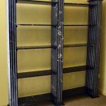 Marble bookshelf display unit